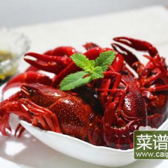 蒜香盐水小龙虾