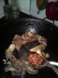 平菇盖浇饭的做法步骤6