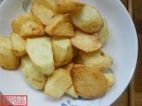 拔丝土豆的做法步骤5