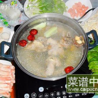 猪骨汤什锦火锅