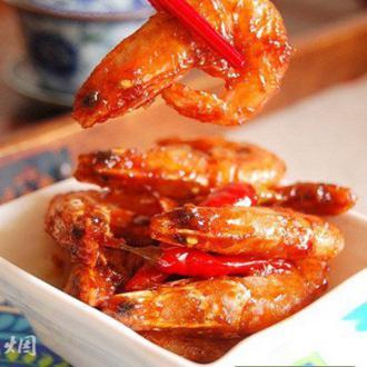 酸辣蜜汁北极虾