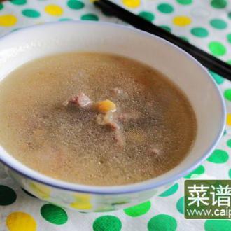 黄豆驴肉清汤煲
