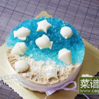 海洋酸奶冻芝士蛋糕