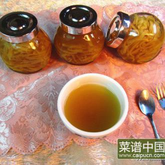 祛火柚子茶