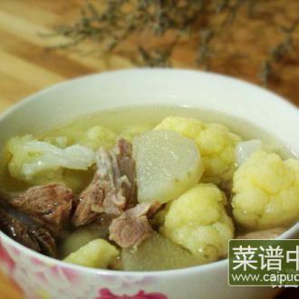 花菜排骨汤