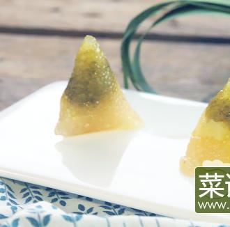 抹茶水晶小奶粽