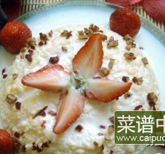 酸奶草莓蛋糕(只需要