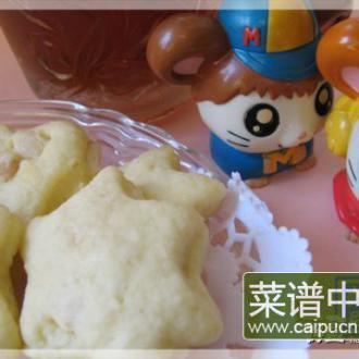 杏仁椰香曲奇饼(微波