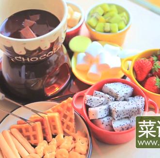 甜蜜缤纷巧克力锅