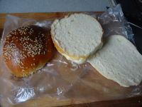 新奥尔良烤鸡肉汉堡的做法步骤9