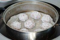 糯米鱼香肉丸子的做法步骤16