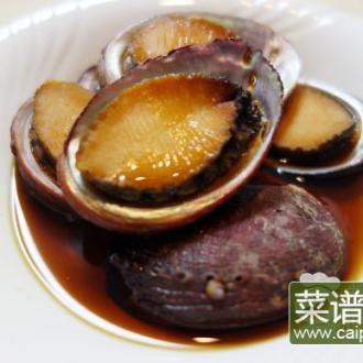 昆布汁煮小鲍鱼