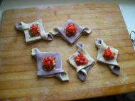 千层紫薯双色鲜肉饼的做法步骤17
