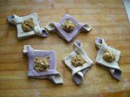 千层紫薯双色鲜肉饼的做法步骤16