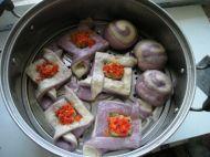 千层紫薯双色鲜肉饼的做法步骤19