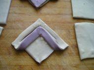 千层紫薯双色鲜肉饼的做法步骤14