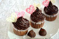 甘纳许巧克力杯子蛋糕的做法步骤15