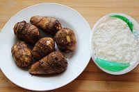 芋艿酒酿炖鸡的做法步骤5
