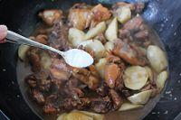芋艿酒酿炖鸡的做法步骤17