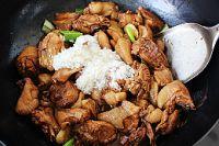 芋艿酒酿炖鸡的做法步骤14