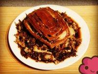 梅干菜扣肉的做法步骤10