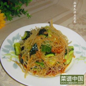 拍黄瓜拌石花菜