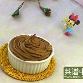 巧克力奶油霜