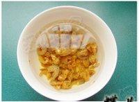 油菜海米炒豆腐的做法步骤1