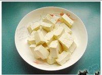 油菜海米炒豆腐的做法步骤5
