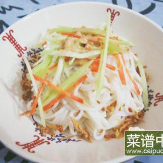 咖喱牛肉干黄瓜麻酱凉