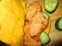 南瓜饼夹里脊的做法步骤9