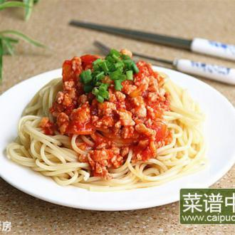 【手工美食】番茄肉酱