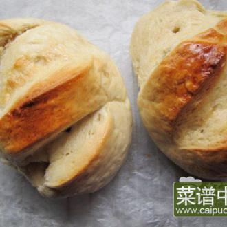 手揉法式面包