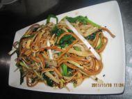 菠菜金针菇拌豆丝的做法步骤5