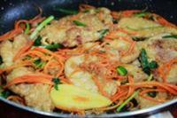 锅包肉的做法步骤7