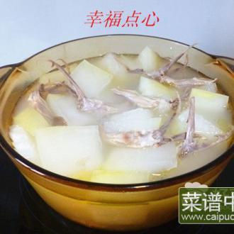 鸭舌冬瓜汤