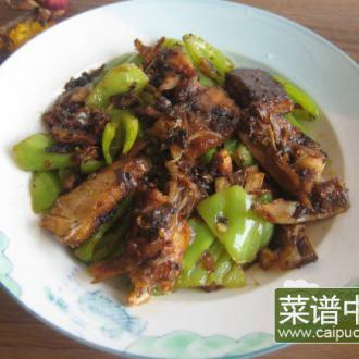 青椒炒腊鱼