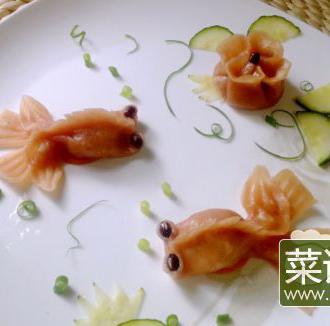 金鱼饺拼盘