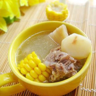 马蹄粉葛骨头汤
