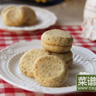 香酥榛仁饼干