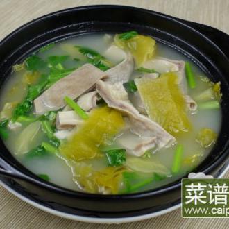 潮州咸菜浸猪肚