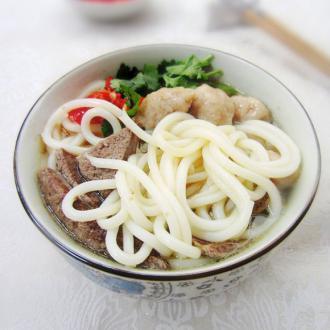 猪肝肉丸濑粉