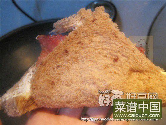 培根夹面包