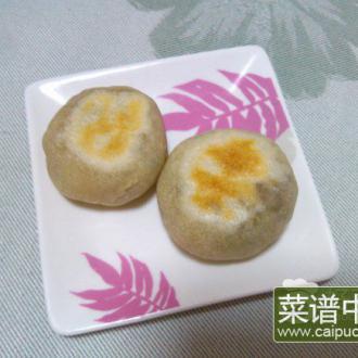 绿豆沙酥饼
