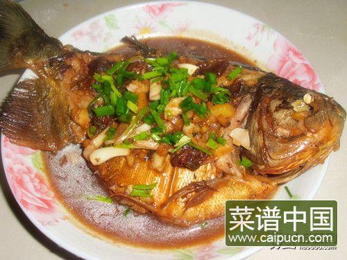 红烧武昌鱼——美味下酒菜
