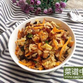梅菜扣肉炒饭