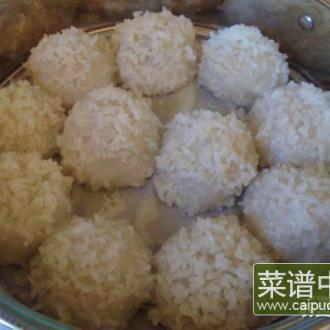 珍珠糯米团子