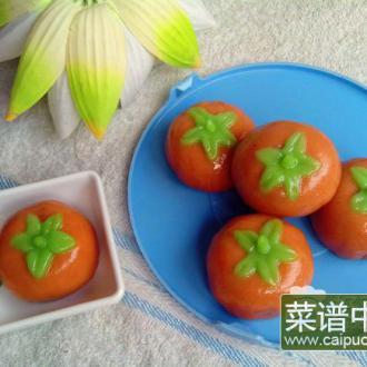 彩绘豆沙小蕃茄