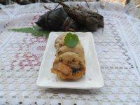 香煎肉粽的做法步骤5