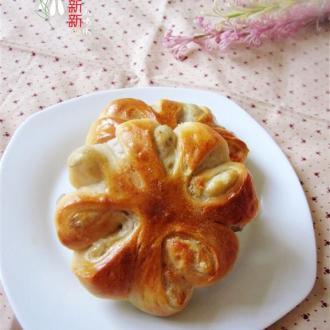 老式面包之芋头花环面